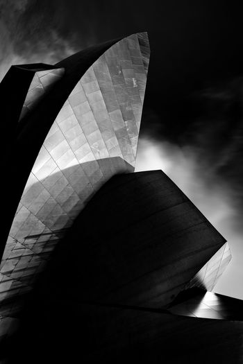 Abstract Abstract Photography Angles Architecture Black And White Curves Day Fine Art Futuristic Infrared Lines Long Exposure Low Angle View Marina Bay Sands Modern No People Outdoors Sky Sunlight Texture Travel Destinations