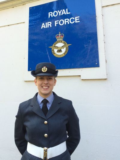 Royal Air Force British Military England Graduation Proud Mommy