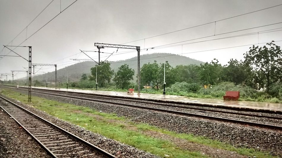 Indianrailways Indianrailwaysdiaries Railway Track Railwaystation Myview MyClick