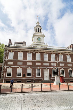 Independence Hall, Philadelphia... City City Life Independence Liberty Liberty Bell Philadelphia Travel Travel Photography USA Architecture Building Exterior Built Structure City City Of Philadelphia Cloud - Sky Day History Iconic Iconic Buildings Iconic Landmark Independence Hall Outdoors Philadelphia Pennsylvania Sky Travel Destinations