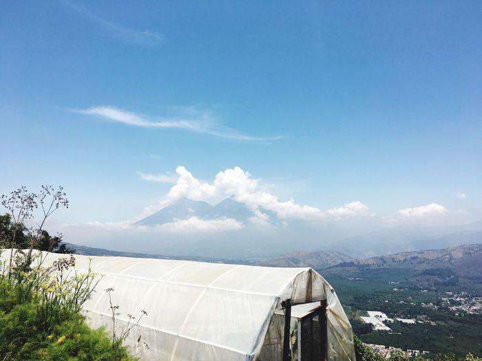 Un mirador muy especial ... a great view... Sky Nature Enjoying Life Guatemala Cloud - Sky