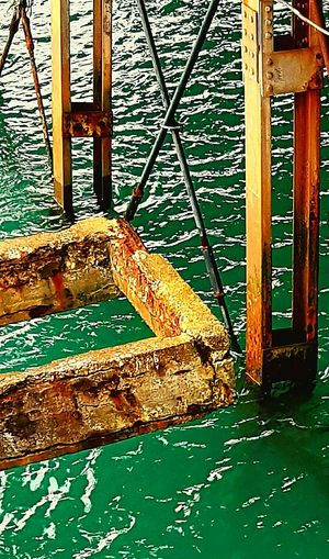 Water Seaside Sea Vintage Architecture Pier Rusted End Of Pier Erosion Effects Rustic_wonders Concrete Structure Depth Underwater Eastbourne