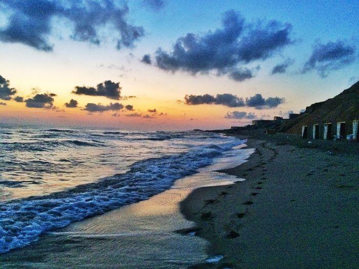 The Great Outdoors - 2015 EyeEm Awards Hello World Sunrise Taking Photos Enjoy The Silence Onthebeach EyeEm Nature Lover Beachphotography Ebeshti Libya
