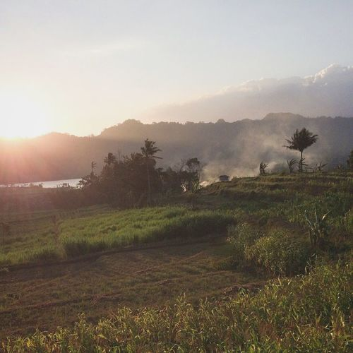 Sunset near the