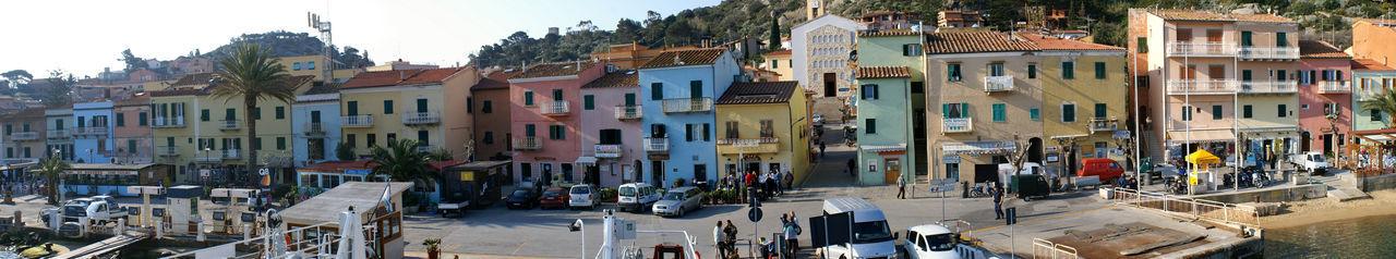 Porto dell'Isola del Giglio Architecture Cityscape Isola Del Giglio Italy Landscape Mare Porticciolo Sea Toscana Town
