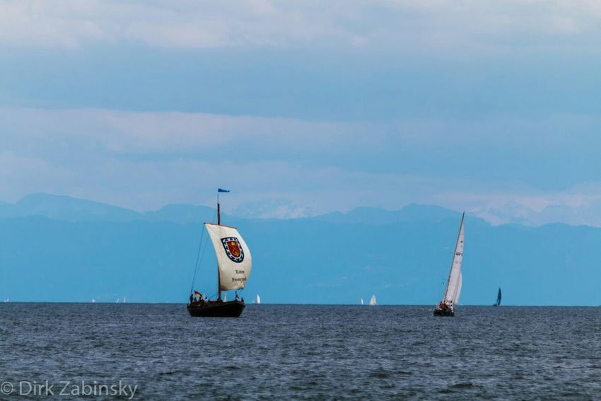 Bodensee Lakeconstance Sailing Segelboot