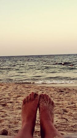 Tunisia Sandy Feet Sunset Happiness Is.... Warmth