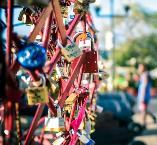 Hanging Outdoors Day No People Close-up Curacao (willemstad) Camera Life Is My Life! Closeupshot Closeup Photography Padlocks, Lovers Locks, Promises, True Love, Romance Padlock Love Padlocks Padlock On Red Fixing Curacao Love Padlocks Willemstad