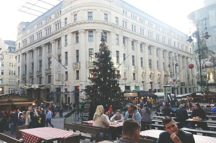 Christmas Tree Christmas Decorations Christmas Time Christmas Lights Budapest, Hungary