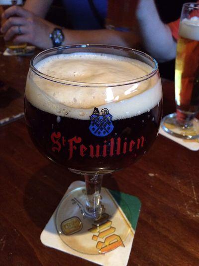 Gran birra la S. Feuillien!!