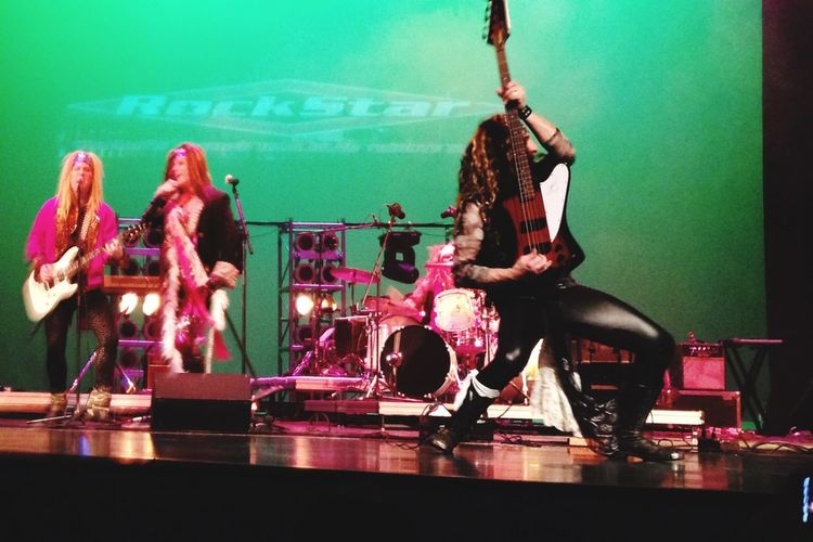 Rockstar Macomb College Performance