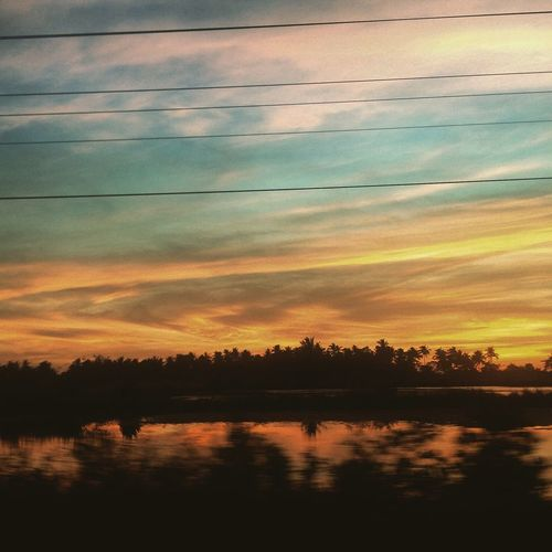 On my way home Sunset Sky Nature First Eyeem Photo