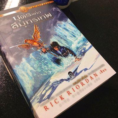 ขอตัวไปผจญภัยก่อน รอมานาน!! Rickriordan Book Theheroofolympus Thespnofneptune Reading Bangkok Thailand