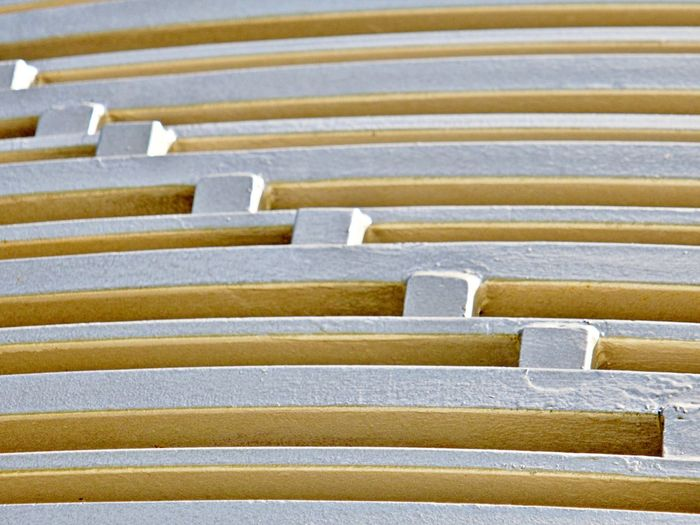 Pattern No People Backgrounds Close-up Full Frame Large Group Of Objects Metal Striped Repetition Architecture Abstract