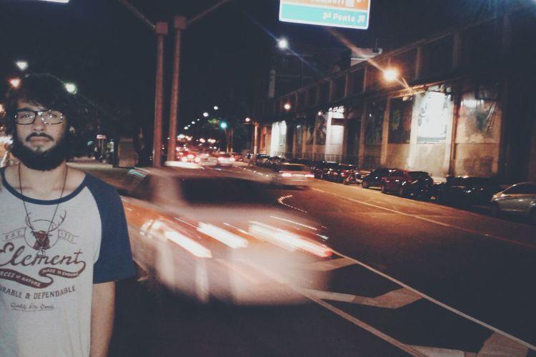 Lonely boy (8) Night Lights My City Beard heh