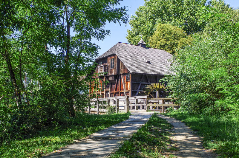 Turistvandi Vizimalom Wooden Water Mill Architecture Building Exterior Built Structure House Malom No People Outdoors Water Mill Wheels Wooden House Wooden House In Nature