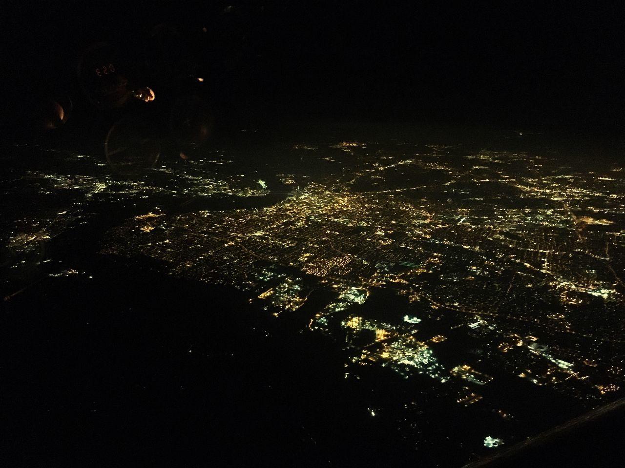 night, outdoors, illuminated, no people, water, tree, nature, cityscape