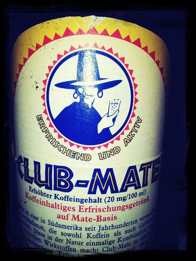 Starting The Day With Club Mate
