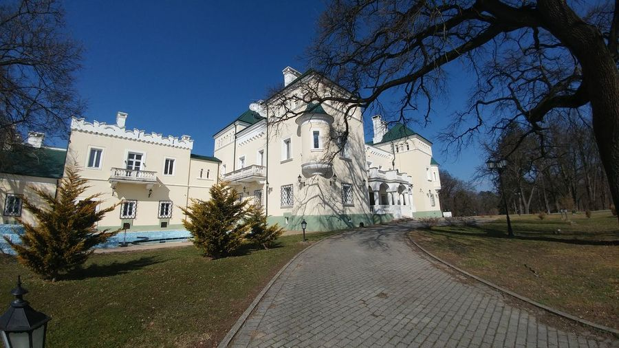 Blue Clear Sky Day Architecture EyeEm Eyeemphotography Castle Historical Building Hungary Turistic Places