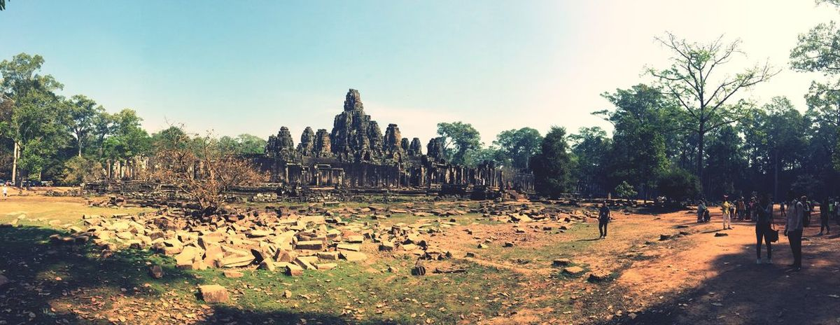 Cambodia Hello World Siemreap Angkor Thom