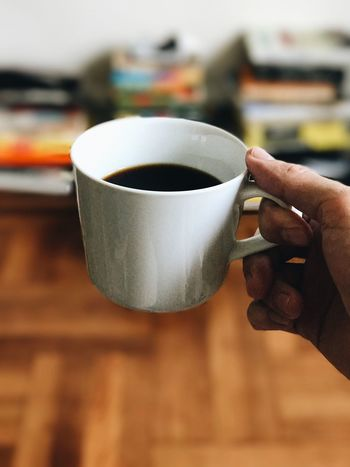 Coffee Cup Coffee - Drink Drink Human Hand Food And Drink Refreshment Human Body Part Cup Human Finger Holding Freshness One Person Focus On Foreground Real People Indoors  Close-up Tea - Hot Drink Saucer Table Women