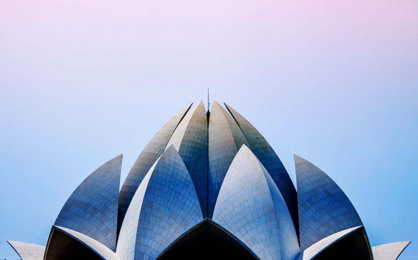 Lotus temple in