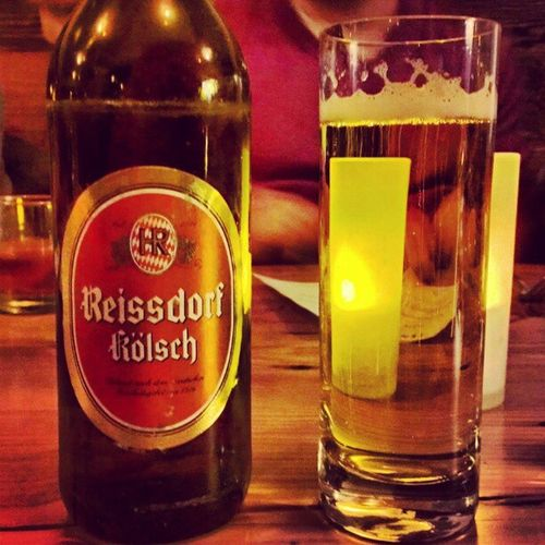 That's amazing. More than 5k miles away from Cologne and right with the start of the Carnival season there, I'm drinking a Reissdorf Kölsch in SF. Alaaf! :-D