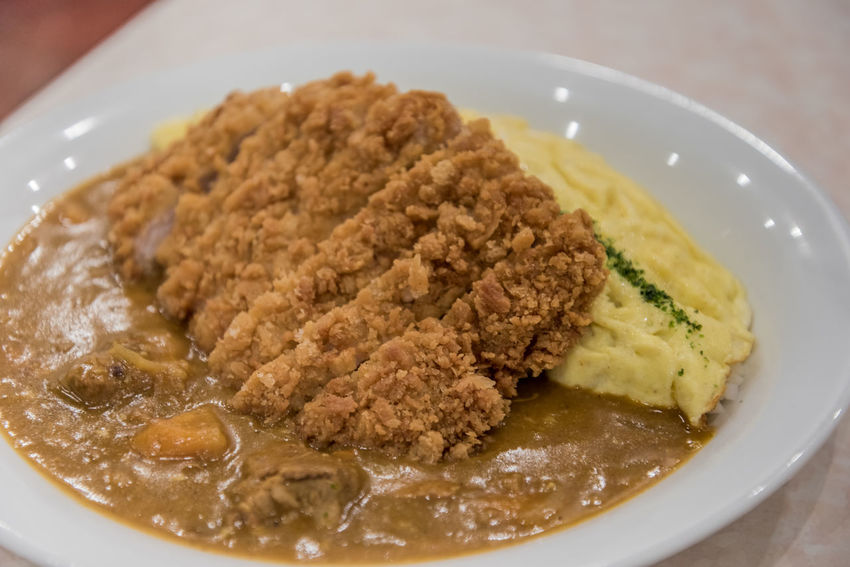 Chicken katsu with egg and rice. Bowl Chicken Katsu Close-up Delicious Dinner Egg Food Food And Drink Freshness Fried Chicken Healthy Eating Indoors  Japanese  Japanese Food Lunch No People Plate Ready-to-eat Rice
