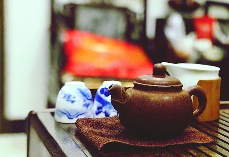 功夫茶kongfu tea KONGFU TEA Teapot Tea Drink Focus On Foreground Still Life Food And Drink Hot Drink Tea Cup Cup No People