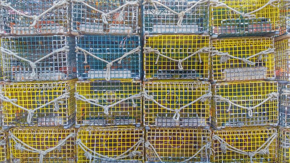 lobster traps Pattern Pieces Pattern, Texture, Shape And Form Pattern Texture Shape Design Pattern Photography Seafaring Seaside Ocean View Lobster Traps Lobster Pots Lobstering Lobstah Massachusetts Hull, Massachusetts Here Belongs To Me Beautifully Organized Live For The Story
