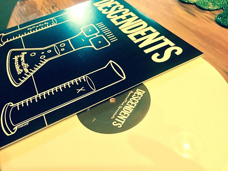 Because, just because. Vinyl Descendents Awesome Love Taking Photos