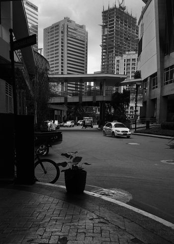 The Places I've Been Today Eastwood City, my second home, the place where I work, make money and have fun with friends :) EastwoodCity Eastwood Office Urban City Cloudy Day Quezon City Philippines