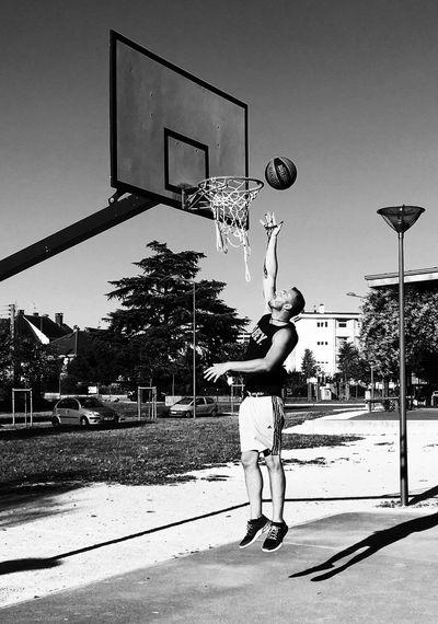 Blackandwhite Photography Portrait Basketball Sport Jump EyeEm Best Shots Picoftheday Photo