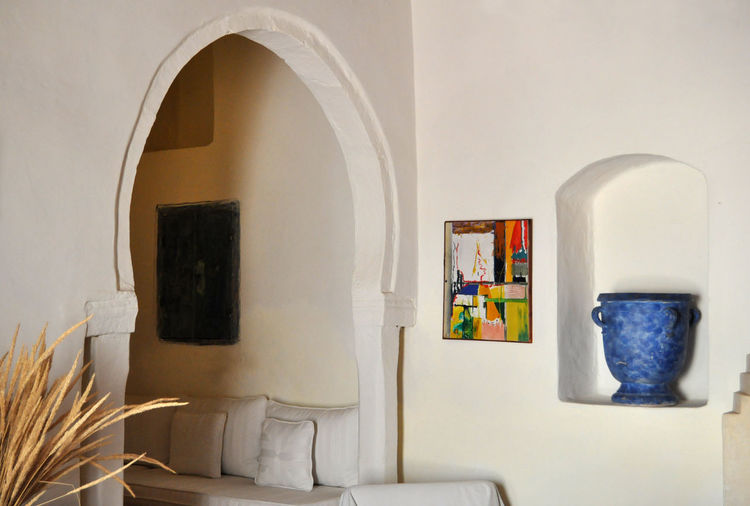 Tunisia Architectural Detail Architecture Bedroom Cosy Place Dar Dhiafa Djerba, Tunisia Home Interior Indoors