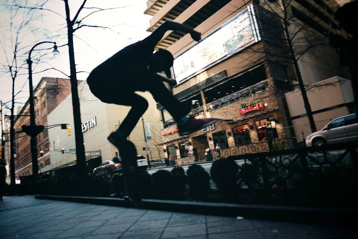 Streetphotography Street Photography Street Cinematic Street Poetry Getting Inspired People Photography The Human Condition Eye4photography  Point Of View Dynamic Capture The Moment ExpressYourself Inspired Downtown City Life Light And Shadow Silhouette Skateboards In The Air Actionshot