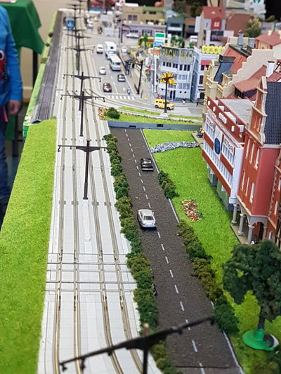 High Angle View Transportation Attention To Detail Detail Reality When Two Worlds Collide Parallel Universe RealityCheck British Hobbies See The World Through My Eyes Minature Trains Playing God See Things Differently See What I See Minature World Minature Railway Minature No People Art Is Everywhere
