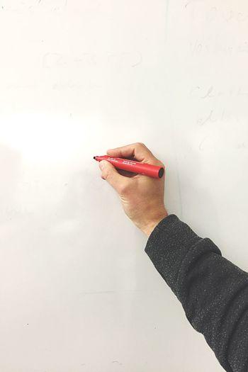 White Whiteboard Marker Meetings Paint Color Pen