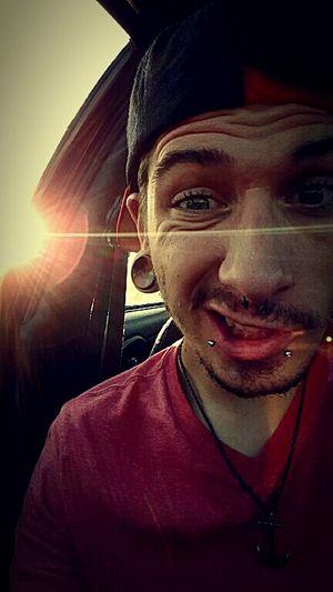 Cruising In My Car Sunset Sunrays First Eyeem Photo