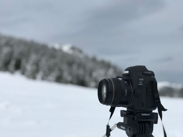 Trees Macro Photography Landscape Canon Winter Focus On Foreground Cold Temperature Outdoors Day No People Snow Nature Photography Themes Close-up Technology Sky
