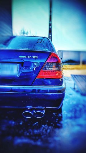 Clean Mercedes W202 AMG Water AMG Car Outdoors Day Water