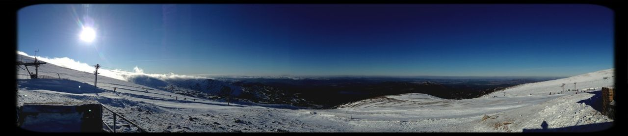 Panorama On Top Of The World Heartbeat Moments Seeing The Sights Skiing Scotland