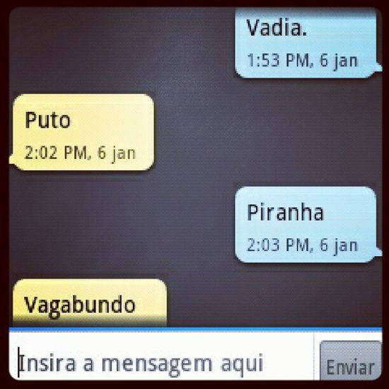 Trocando carinhos... Love SMS Printscreen Day Phone Android Bitch Friend Friends LikeForLike Like Likes