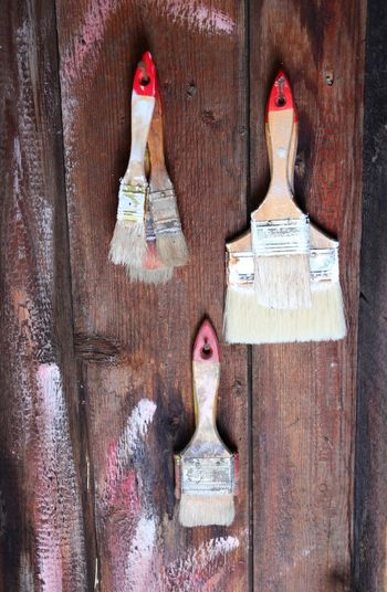 Creative Tools Canon Eos77D Wall Wood - Material No People Art And Craft Human Representation Old Creativity Craft