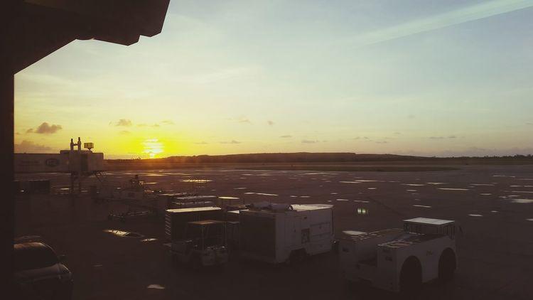 Saipan Sunrise Airport Beautiful View My Home Island Life First Eyeem Photo