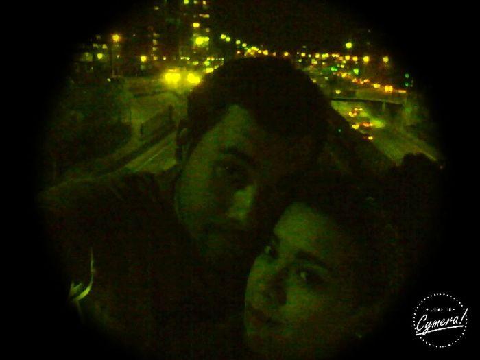Noche en Santiago De Chile junto a mi Love ♥