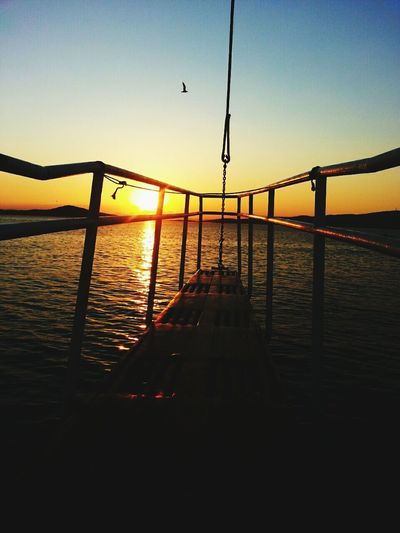 Travelling Sunset Sun Ayvalik Aegean Sea On The Ship Naturelovers Hello World Relaxing Quality Time
