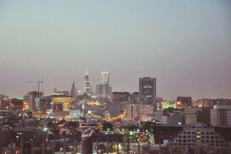 The wellknown towers in Riyadh