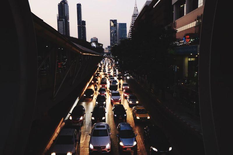Traffic was