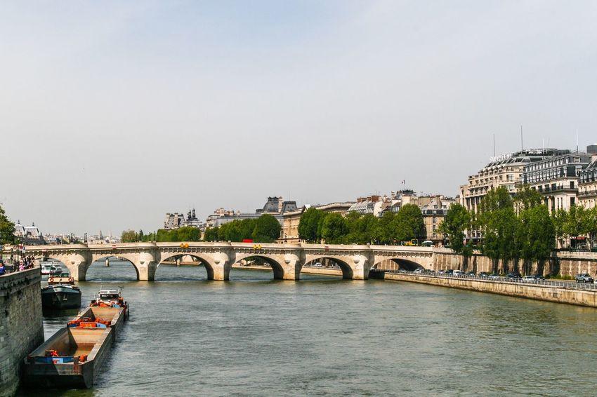 Paris Seine France Built Structure Bridge Architecture Connection Bridge - Man Made Structure Water Building Exterior River City Waterfront Arch Bridge Engineering Travel Destinations