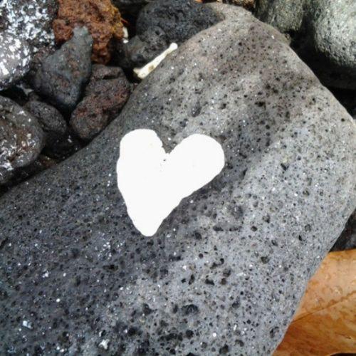 _heart_rock 3rd_bay Getaction Lovemyhawaii Bigislandlove Igers Instagood Instasmile Instalove Myhome